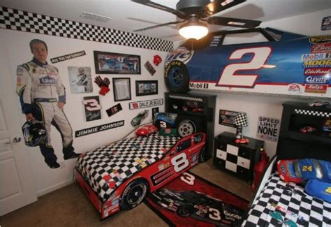 nascar bed top 20 car themed bedrooms for and adults
