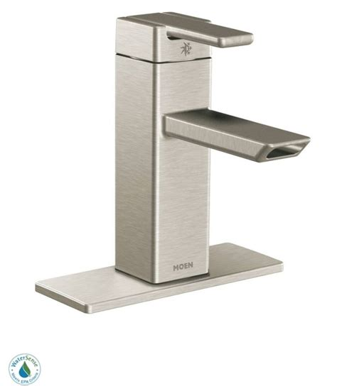 moen kitchen faucet brushed nickel faucet s6700bn in brushed nickel by moen