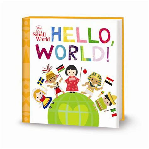 baby picture books hello world disney it s a small world book disney baby