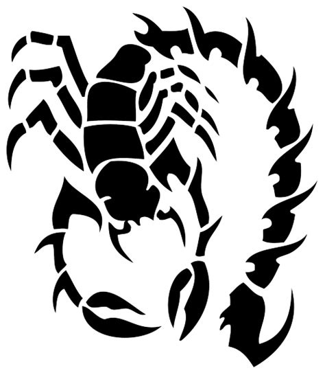 tribal scorpion tattoos high quality photos and flash