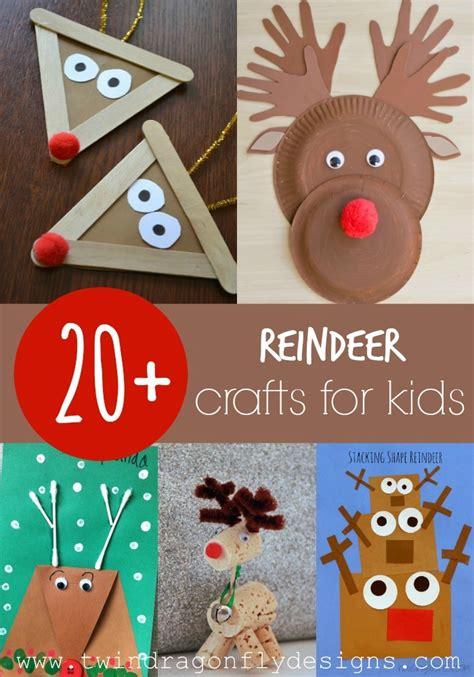 20 Reindeer Crafts For 187 Dragonfly Designs
