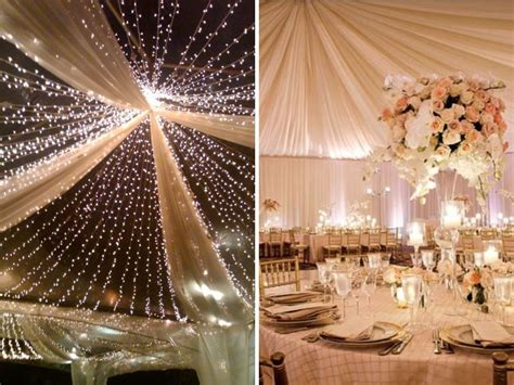 lights for decorating wedding stunning ideas for wedding ceiling decorations