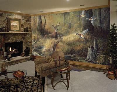 Log Cabin Themed Home Decor october memories c826 mural muralsdirect co uk wall