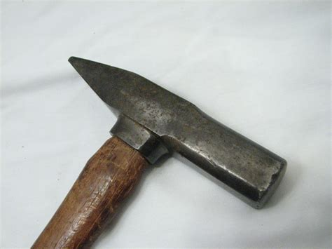 rockford woodworking unique antique riveting hammer w collar woodworking tool