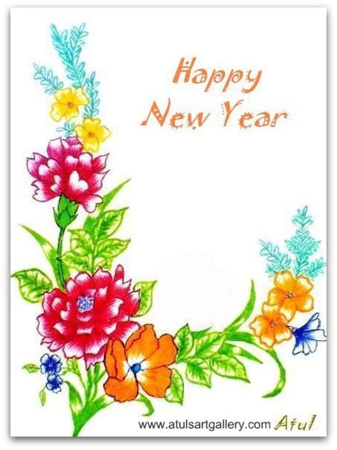 year greeting cards 40 cool new year greeting cards themescompany