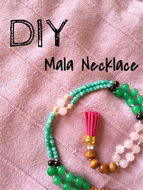 diy mala diy mala bead necklace yogabycandace