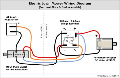 Electric Motor Wiring by Nick Viera Electric Lawn Mower Wiring Information