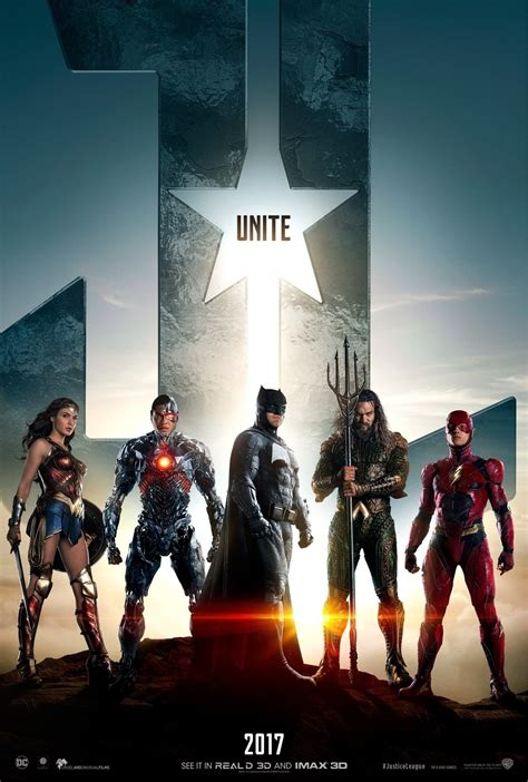 justice league justice league new poster revealed trailer coming soon ign