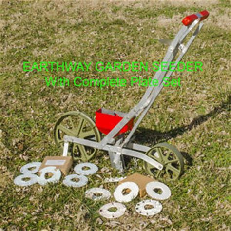 garden seed planters earthway garden seeder planter all seed plates