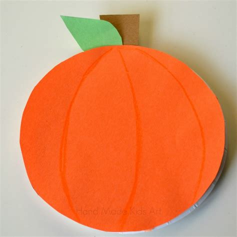 construction paper pumpkin crafts how to make 3 easy paper plate pumpkins steam lab