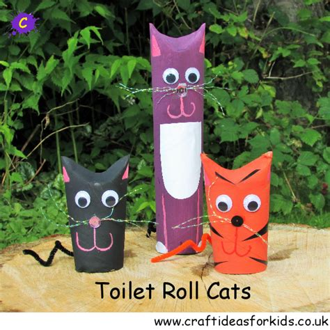 toilet roll craft ideas for toilet roll cats craft ideas for