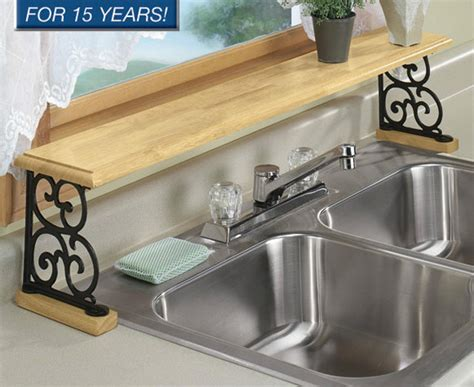 the kitchen sink organizer solid wood iron kitchen bathroom counter the sink