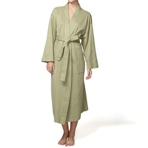 knit robe organic cotton robe jersey knit kimono style