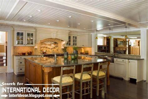 ceiling ideas for kitchen largest album of modern kitchen ceiling designs ideas tiles