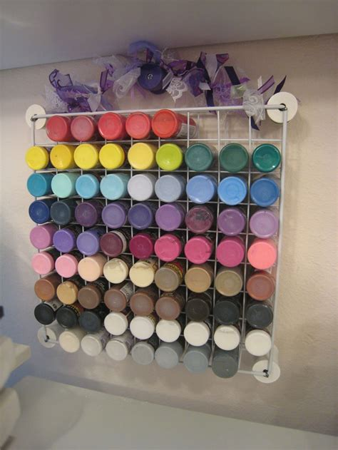 acrylic paint storage 17 best ideas about acrylic paint storage on