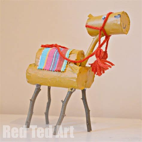camel crafts for toilet roll nativity the camel ted s
