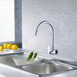 wall mounted kitchen faucet wall mount kitchen faucet