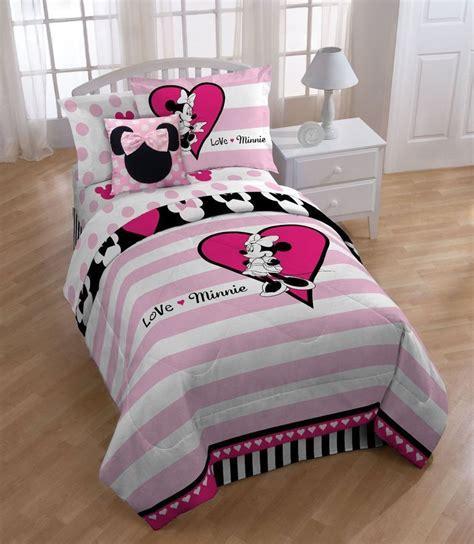 minnie comforter set disney minnie mouse comforter set ebay