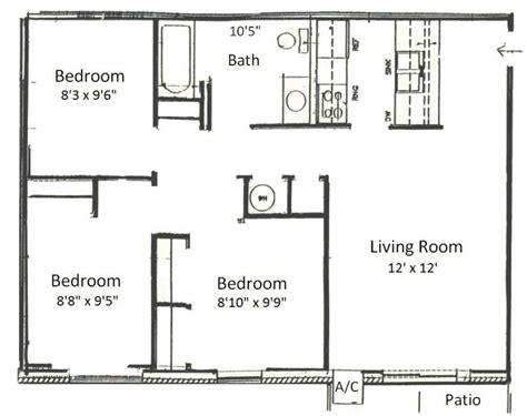simple 3 bedroom house plans simple 3 bedroom floor plans homes floor plans