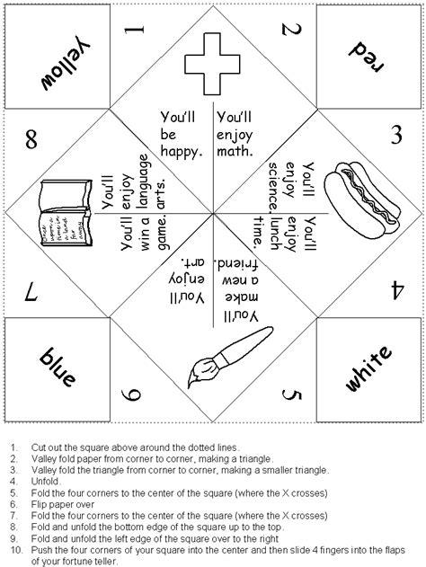 fortune teller origami ideas origami fortune teller nihal yildirim s