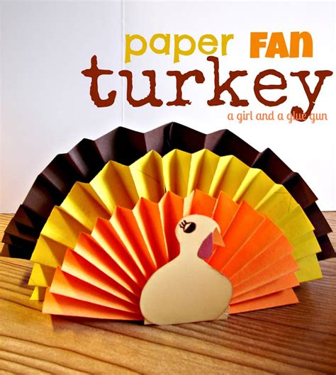easy thanksgiving paper crafts 5 thanksgiving turkey crafts for your des