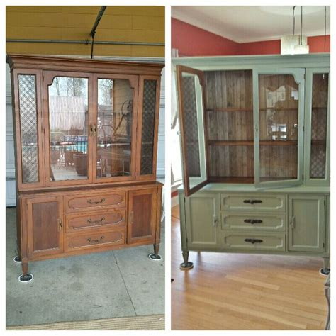chalk paint vs howard chalk paint redone china hutch with howard chalk paint rescue