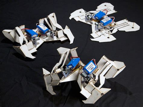 origami robots the design thinking mit s origami