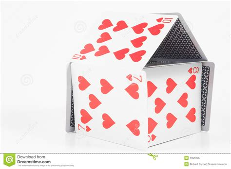 how to make house of cards house of cards royalty free stock photo image 1951205