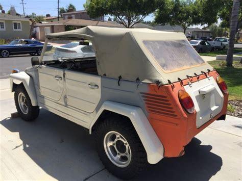 1973 Volkswagen VW Thing Baja