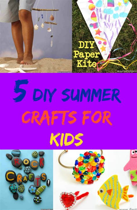 cheap summer crafts for 5 diy summer crafts for discountqueens