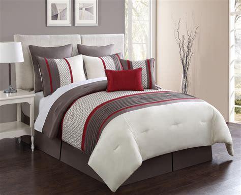 8 king comforter set 8 aruba taupe comforter set