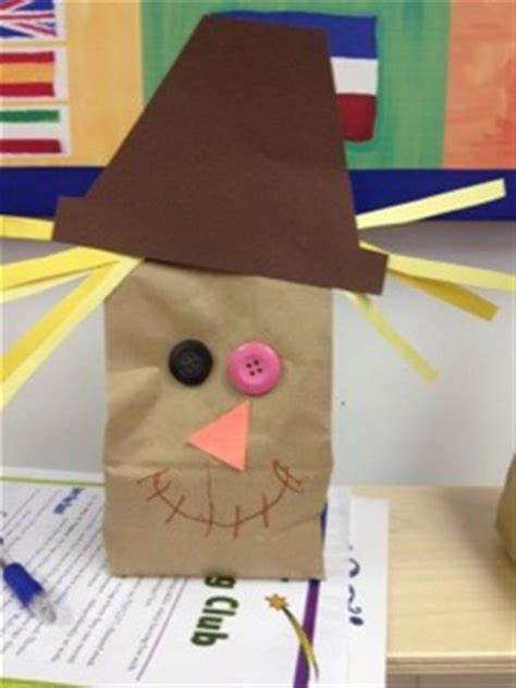 paper bag arts and crafts for fall craft ideas for candle in the