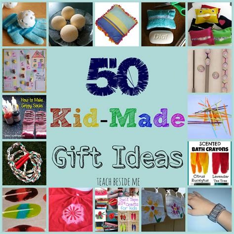 kid crafts for gifts kid made gift ideas for family teach beside me