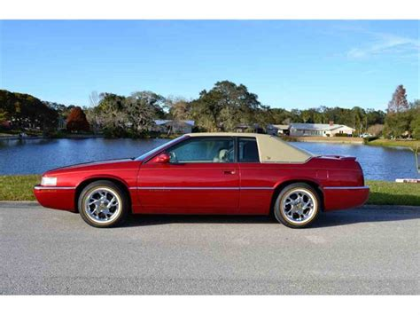 1999 Cadillac For Sale by 1999 Cadillac Eldorado For Sale Classiccars Cc 1062899