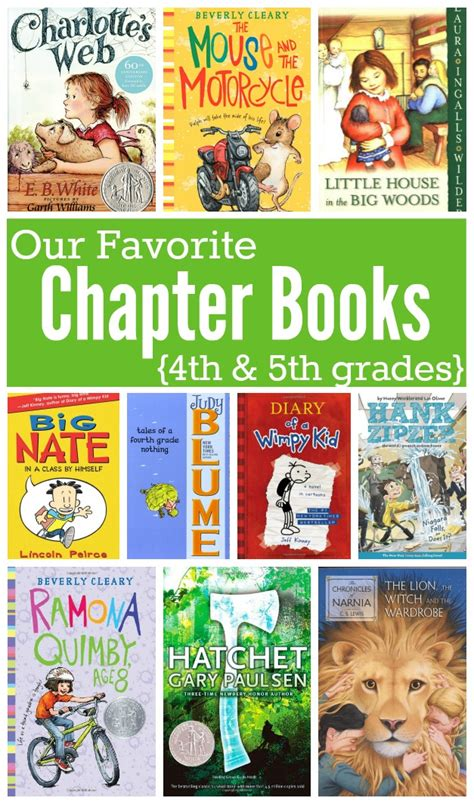 5th grade picture books favorite chapter books for in 4th and 5th grades