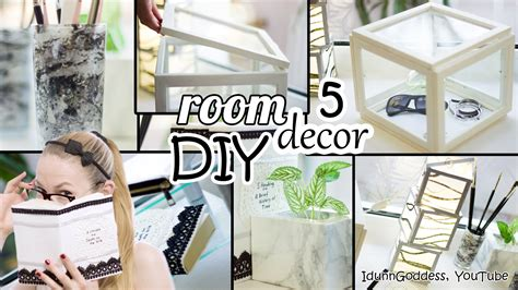 decor room 5 diy room decor and desk organization ideas deco