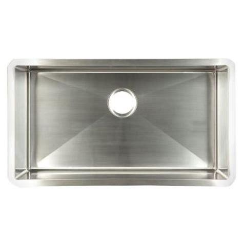 home depot kitchen sinks undermount frankeusa undermount stainless steel 29x18x10 single bowl