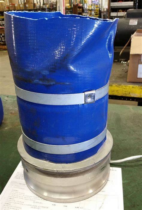 orlando rubber sts reusable fittings on a new hose hose and rubber