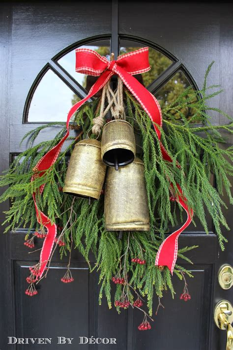 bells for decorations decorating our front door for driven by decor
