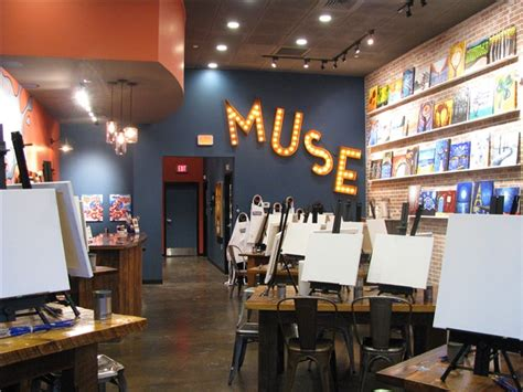 muse paint bar promo code white plains a paint studio and an upscale bar count me in