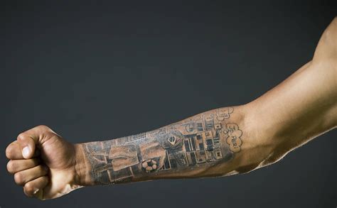 gabriel jesus reveal matching neymar tattoos and flaunts it