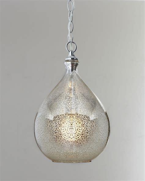 light fixture glass mercury glass pendant light for the home