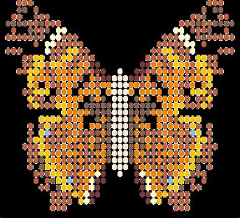free printable seed bead patterns butterflies stitches and bead patterns on