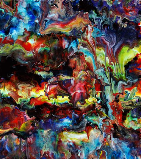 acrylic paint abstract abstract fluid acrylic by chadwick on deviantart