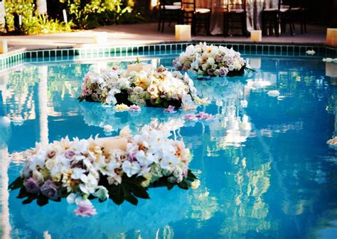 swimming pool decorations 20 pool wedding decoration ideas to try on your wedding