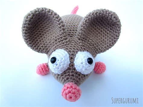 amigurumi mouse amigurumi crochet mouse pattern quot the mouse