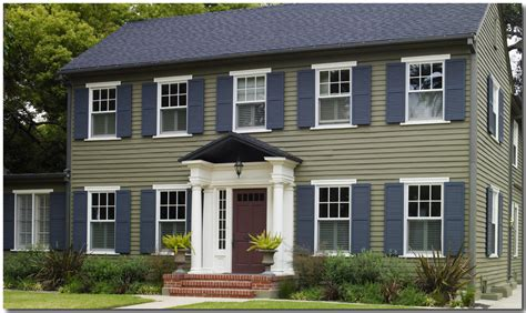 behr exterior paint colors for homes paint brick exterior before after studio design