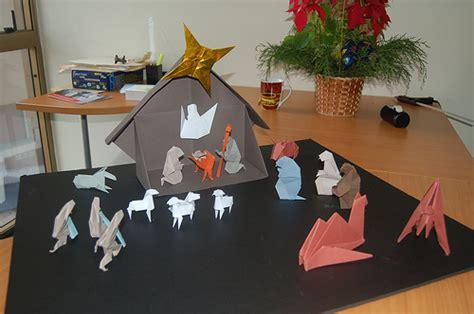origami nativity set origami nativity by klaus dieter ennen i made