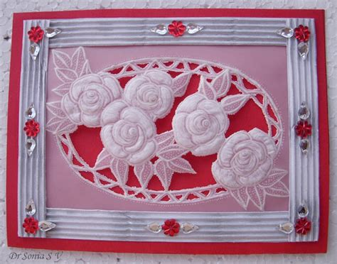 parchment paper crafts cards crafts projects parchment craft card roses