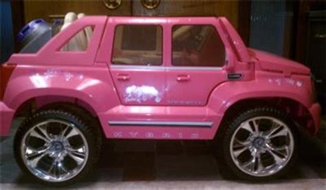 Pink Cadillac Power Wheels by Power Wheels Hybrid Cadillac Escalade Ext Pink Ebay